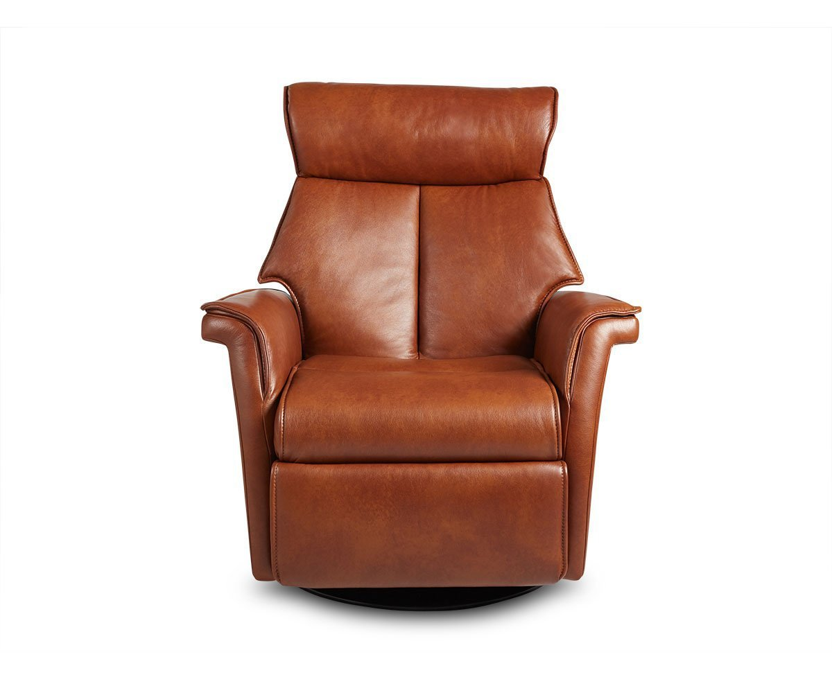 Korsvik Leather Power Recliner - Small Saddle S550 - Scandinavian Designs