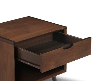 Juneau Nightstand WALNUT - Scandinavian Designs