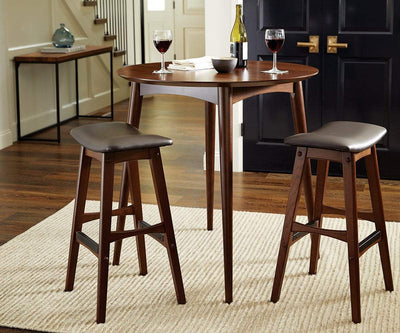 Leon Barstool Brown 3883 - Scandinavian Designs