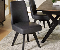 Raynor Swivel Dining Chair Grey - Scandinavian Designs