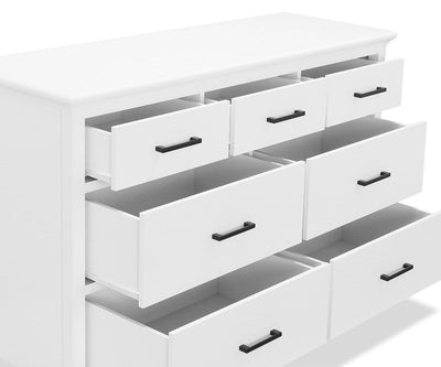 Summer Double Dresser White - Scandinavian Designs