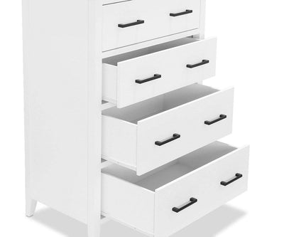 Summer High Chest White - Scandinavian Designs