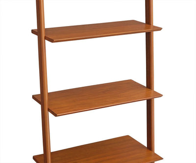 Magrit Wide Bookcase Honey Brown - Scandinavian Designs