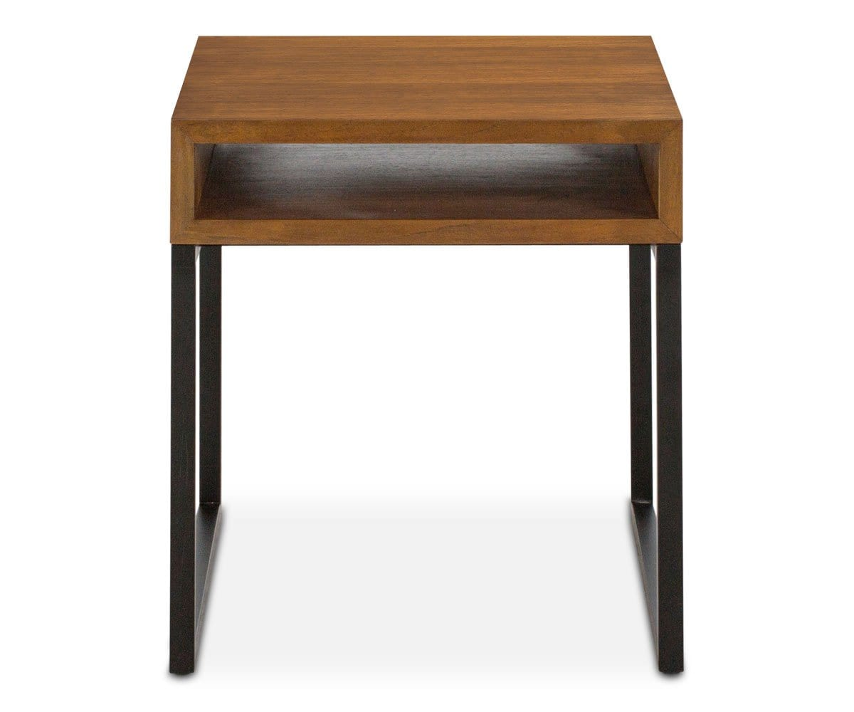 Meidan End Table HONEY BROWN - Scandinavian Designs