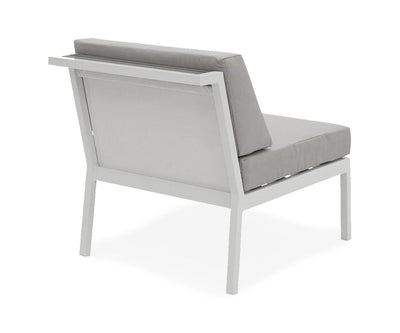 Aurora Armless Chair GREY - Scandinavian Designs