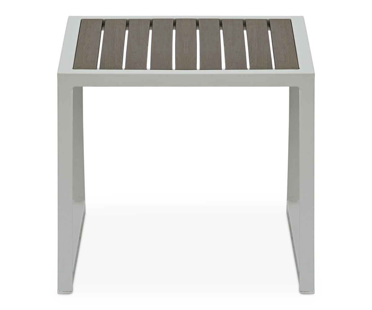 Aurora End Table WHITE - Scandinavian Designs