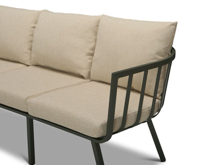 Del Carmen Sofa Green/Beige - Scandinavian Designs