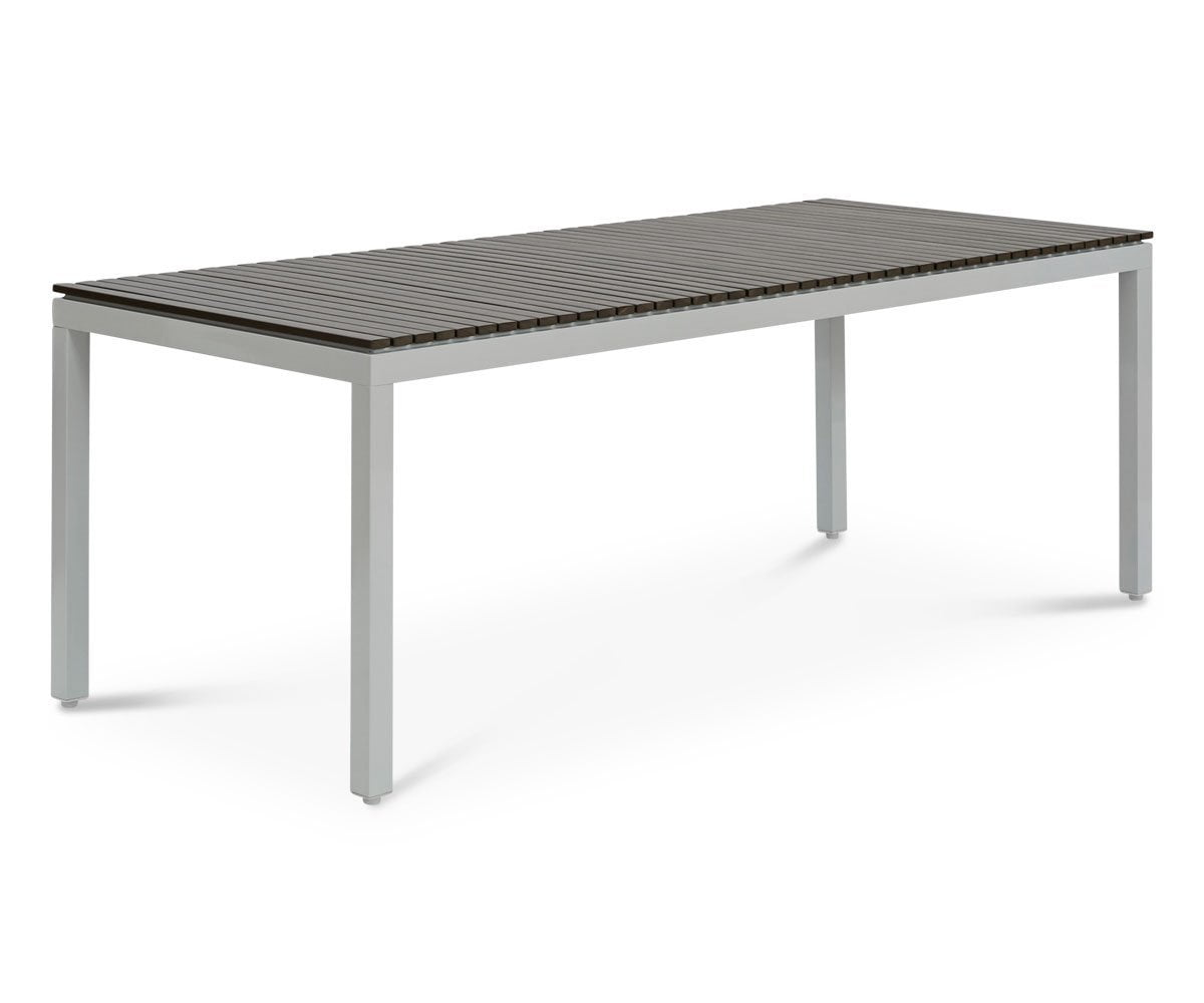 "Aurora 80"" Rectangular Dining Table WHITE - Scandinavian Designs"