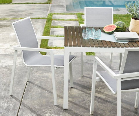Aurora Dining Chair WHITE - Scandinavian Designs