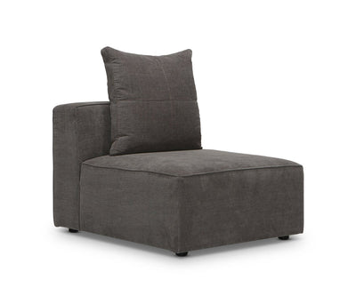 Keltan Modular Sofa Heavenly Mocha / Armless Chair - Scandinavian Designs