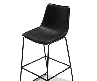 Oken Bar Stool Black - Scandinavian Designs