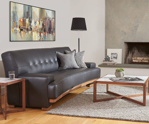 Julian Leather Sofa