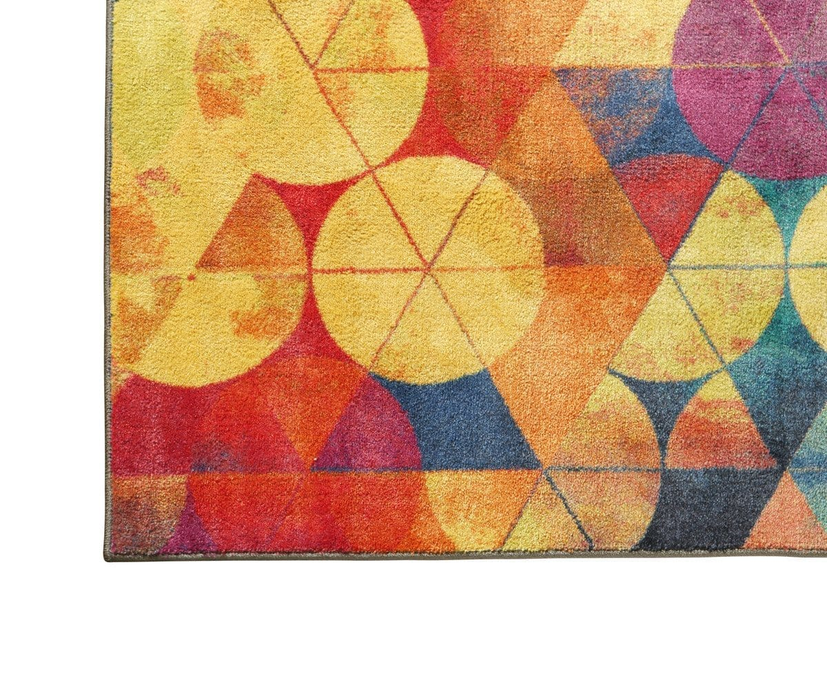 Full Circle Rug Full Circle Multi - Scandinavian Designs