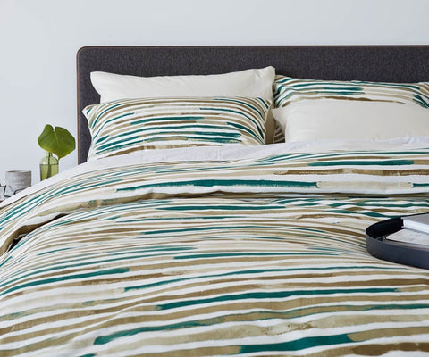 Kanon Duvet Cover - Teal - Scandinavian Designs