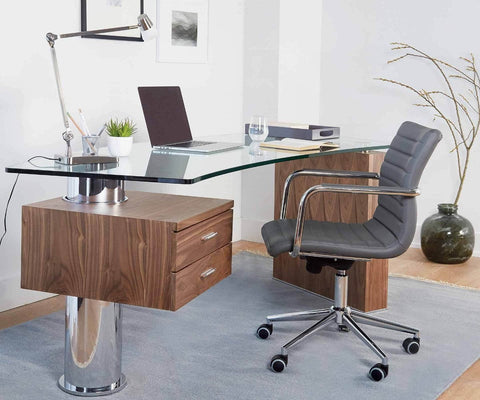 Knarvik Desk Knarvik Walnut - Scandinavian Designs