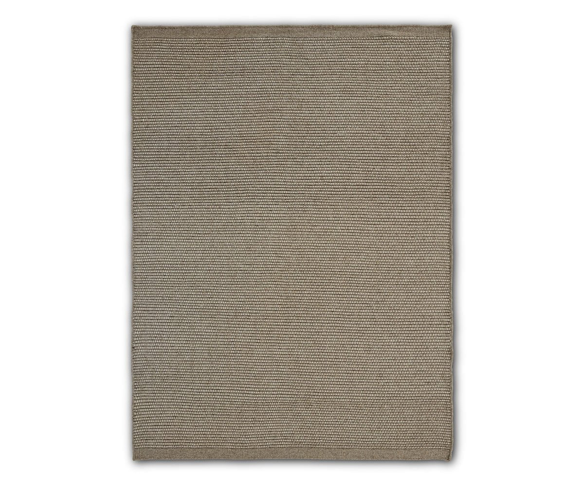 "Drobak Rug - Brown Drobak Brown / 5'6"" X 7'9"" - Scandinavian Designs"