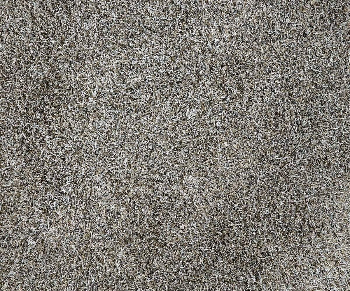 Dapple grey wool modern shag rug