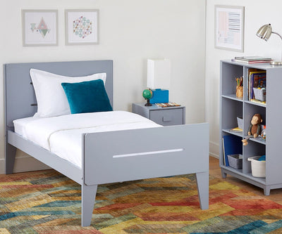 Sloane Twin Bed Sloane Grey - Scandinavian Designs