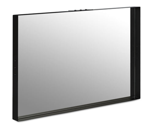 Albin Steel Rectangular Mirror - Scandinavian Designs