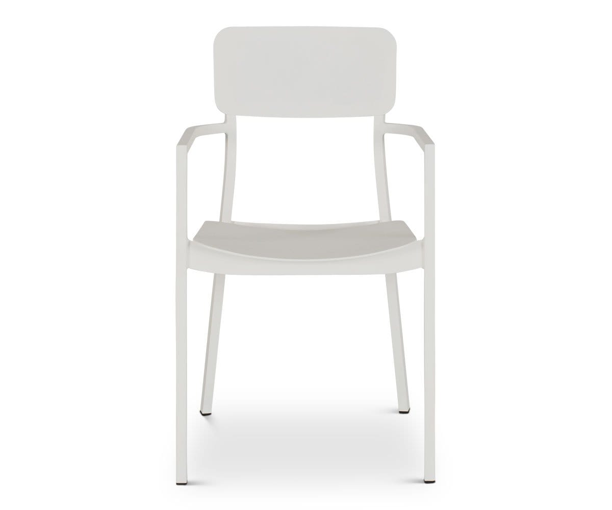 White all purpose dining chair