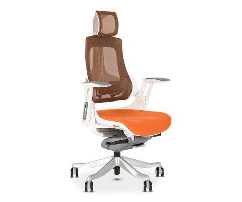 Wau Desk Chair - Orange ORANGE - Scandinavian Designs
