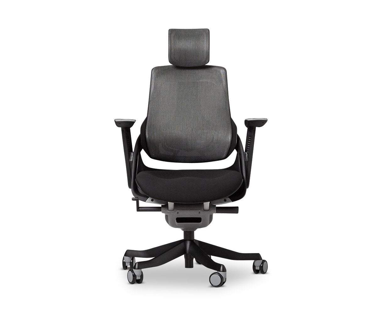 Wau Desk Chair   Black Black   Scandinavian Designs