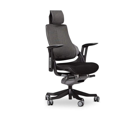 Wau Desk Chair - Black Black - Scandinavian Designs