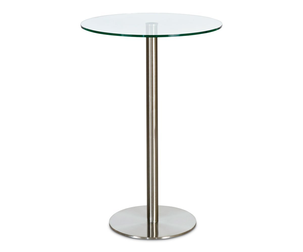 Berta Glass Bar Table
