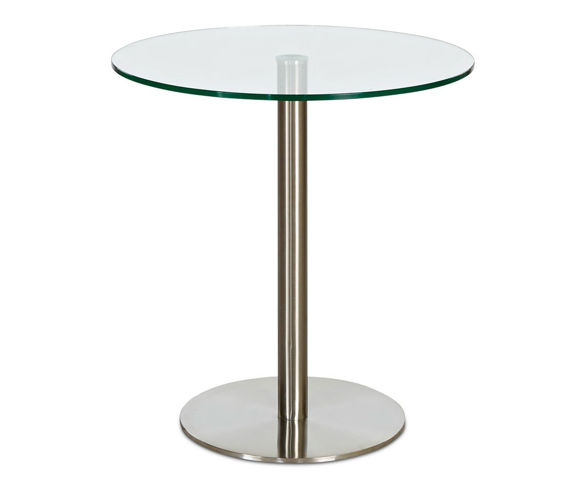 Berta Glass Cafe Table - Scandinavian Designs