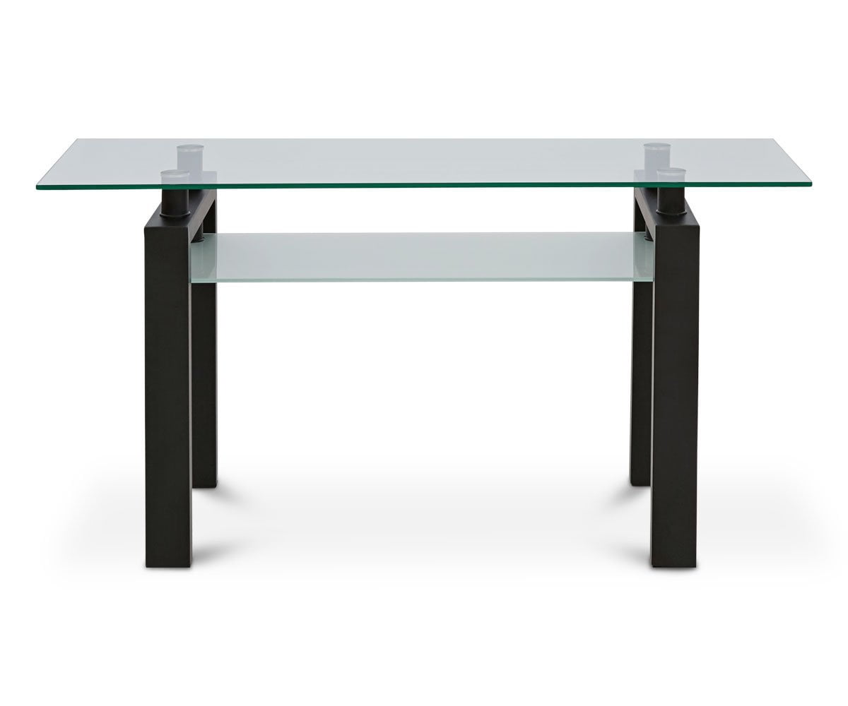 contemporary sleek console table