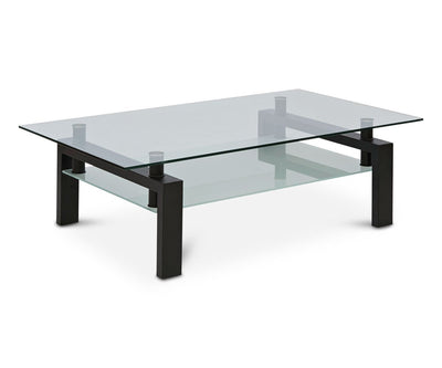 Carmona Rectangular Coffee Table Black - Scandinavian Designs