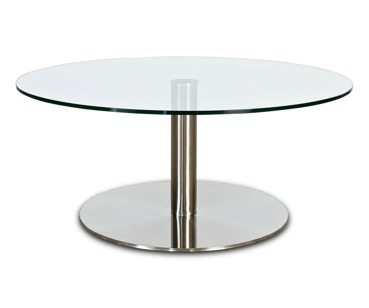Berta Glass Coffee Table
