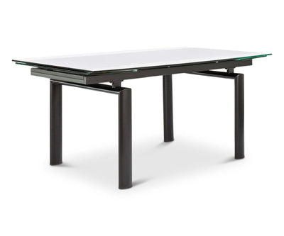 Hispi Extension Dining Table Black Powder Coat - Scandinavian Designs