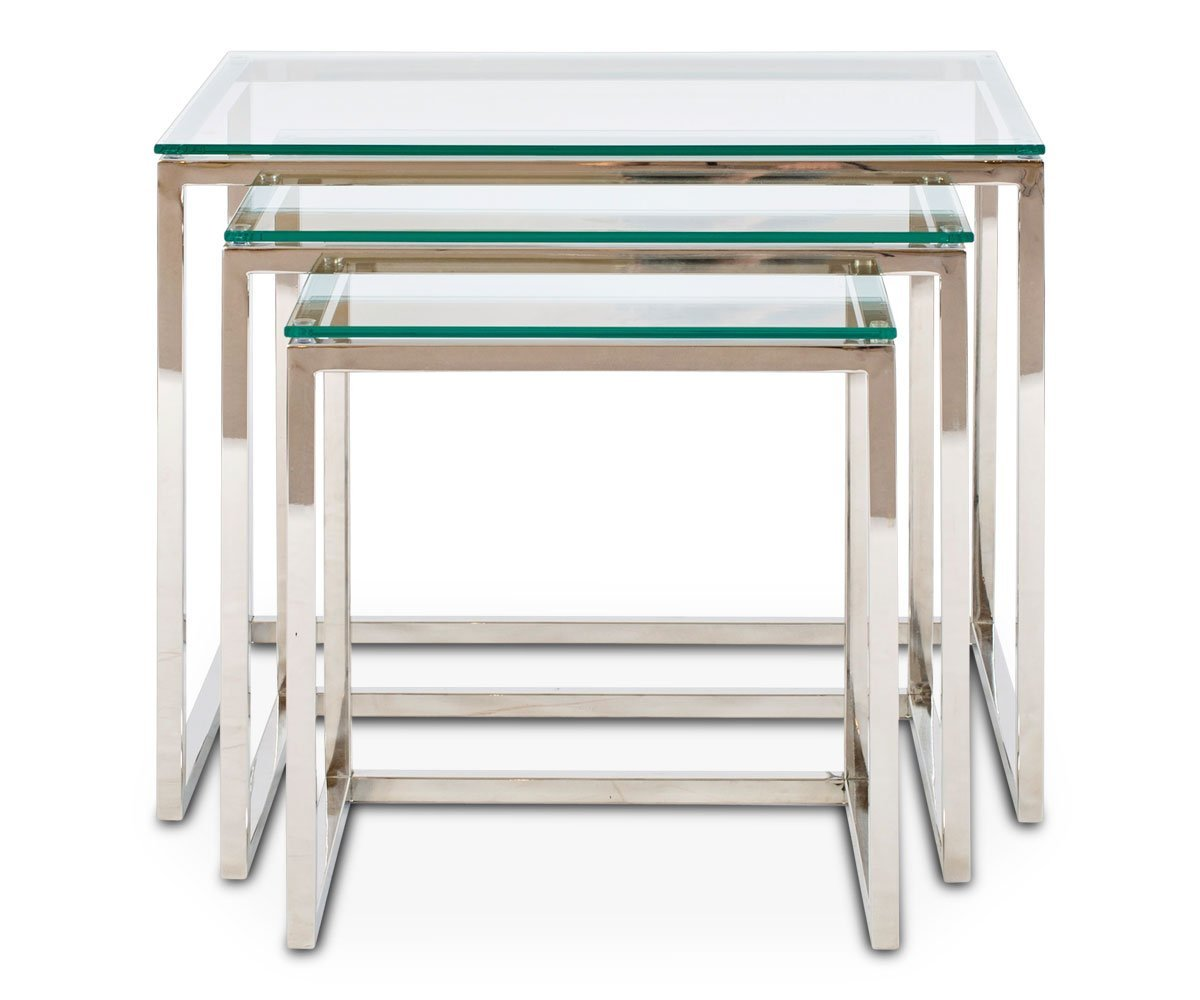 Delus Nesting Tables Scandinavian Designs - Nesting table with drawer