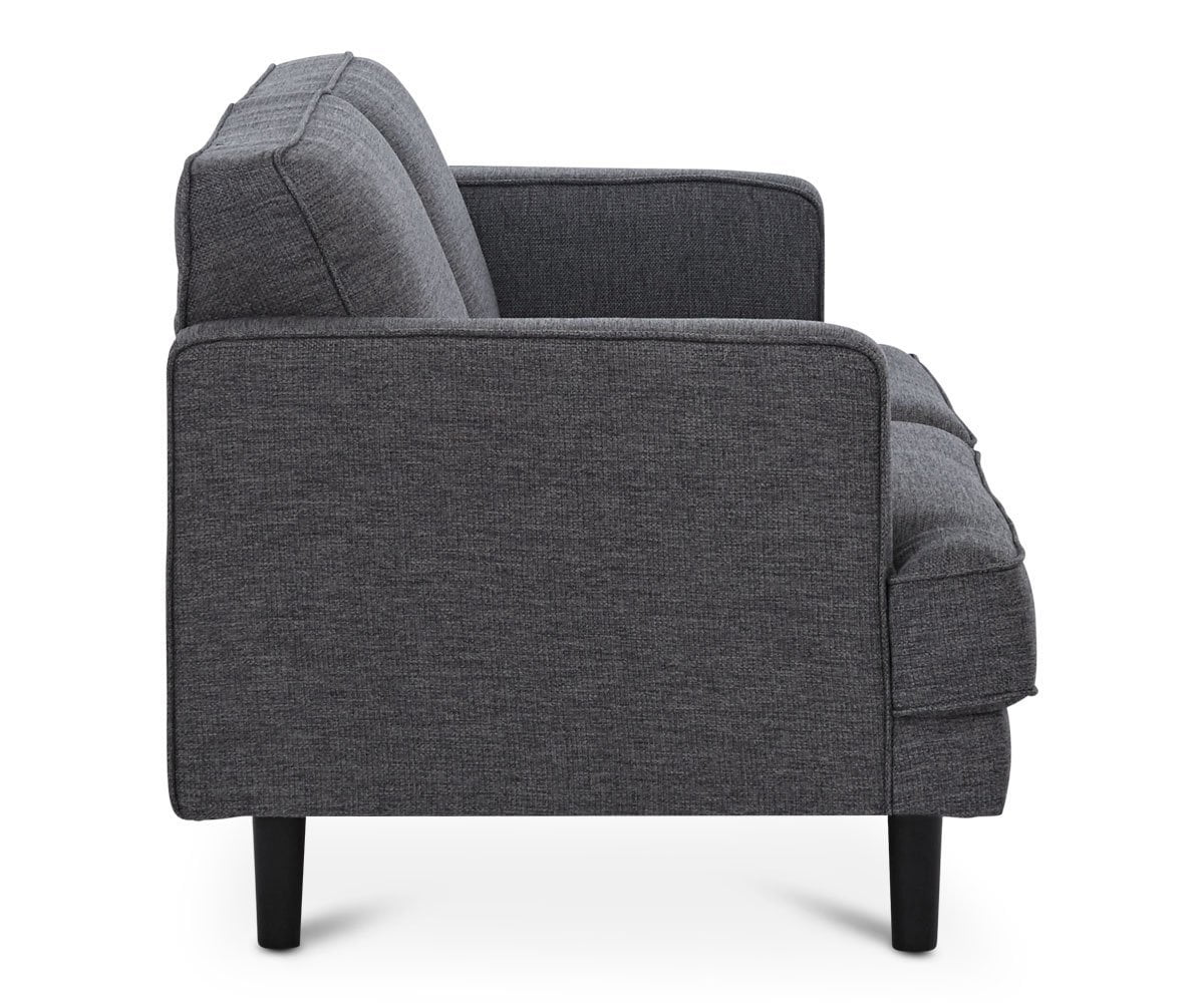 Liam Loveseat - Grey - Scandinavian Designs