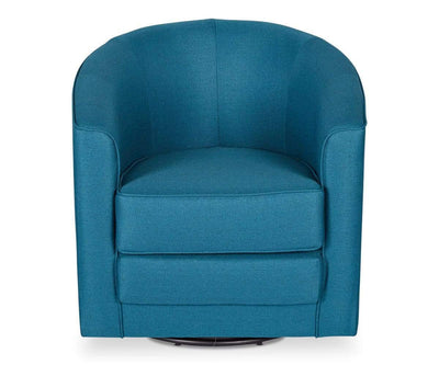 Theva Swivel Chair Petrol Corsica 45 - Scandinavian Designs