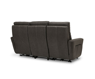 Sola Power Reclining Sofa Naples Graphite - Scandinavian Designs