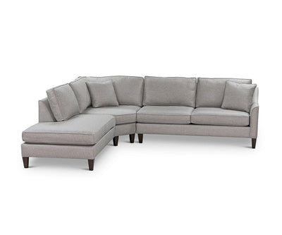 Camberi Sectional Hamilton Pewter - Scandinavian Designs