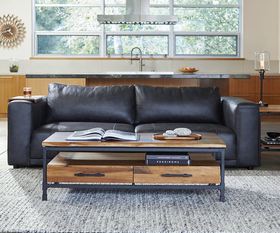 Barloe Leather Sofa