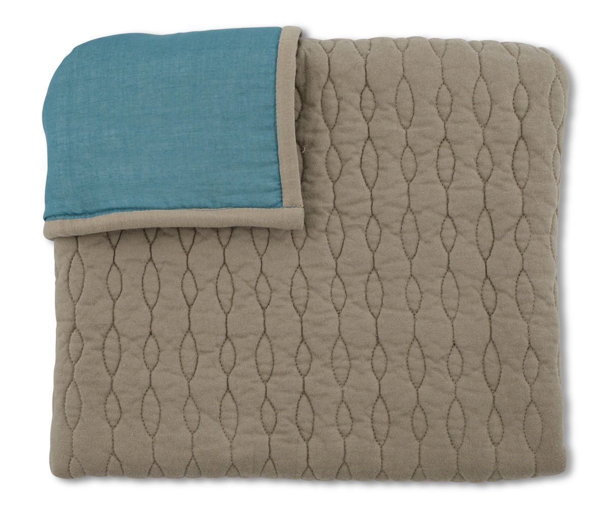 Alta Quilt + Sham Set - Teal - Scandinavian Designs