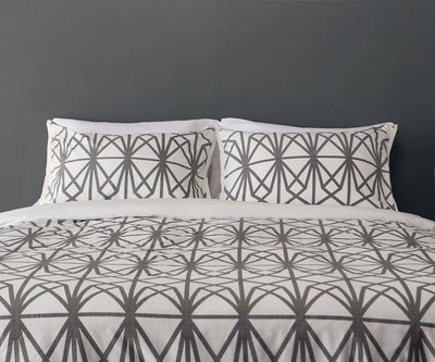 Granvin Duvet Set Grey/Multi / Full/Queen - Scandinavian Designs