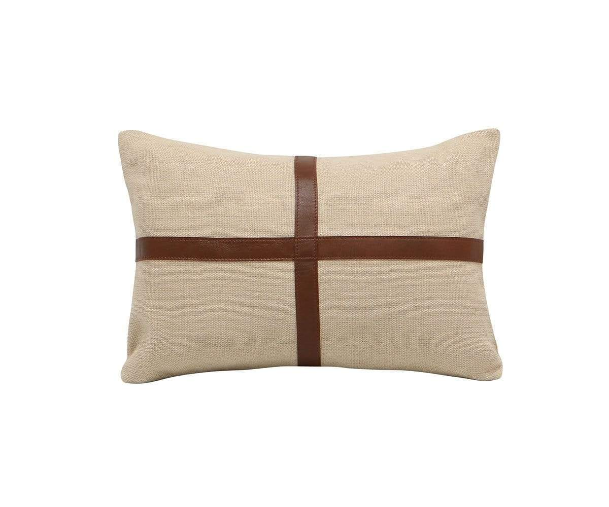 Flokkr Pillow Cover Beige/Brown - Scandinavian Designs