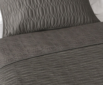 Maurits Coverlet Grey / Full/Queen - Scandinavian Designs