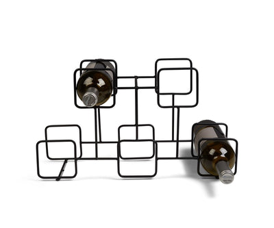 Vindue Wine Rack Black - Scandinavian Designs