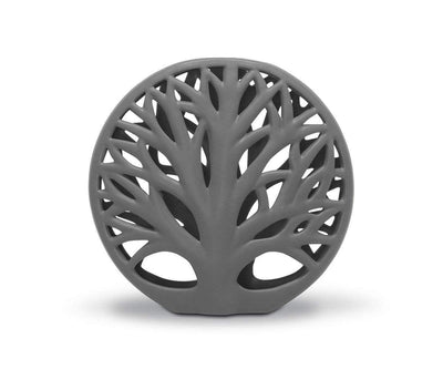 Ceramic Tree Decoration - Grey Grey / Small - Scandinavian Designs