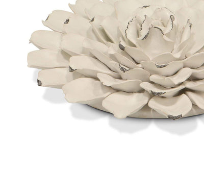 Flower Ceramic Decoration - White - Scandinavian Designs