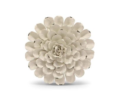 Flower Ceramic Decoration - White White / Large - Scandinavian Designs