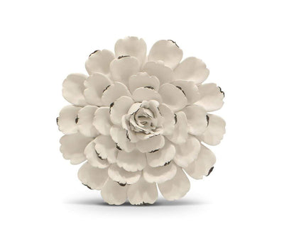 Flower Ceramic Decoration - White White / Small - Scandinavian Designs