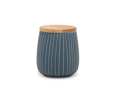Messina Jars Blue / Low - Scandinavian Designs