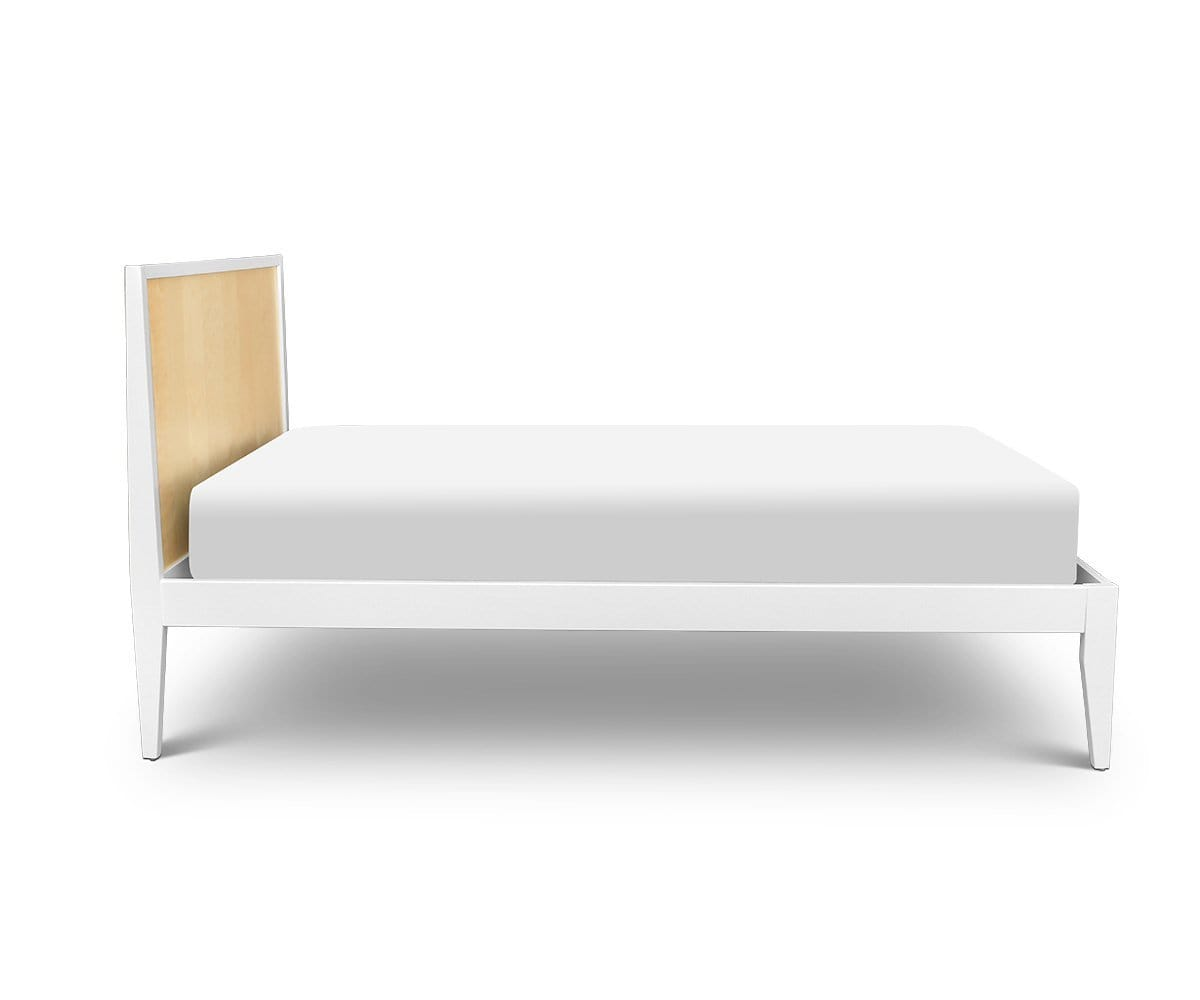 Rowan Twin Bed White/Natural - Scandinavian Designs